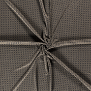 Viskose und Polyester - NB20/21 14218-027 Tricot abstract donkergroen