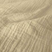 Babydeken stoffen - KN 0800-020 Hydrofielstof uni off-white
