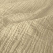 Effen katoenen stoffen - KN 0800-020 Hydrofielstof uni off-white