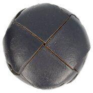 Blauw - Voetbalknoop donkerblauw 35mm (100/54)*