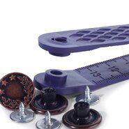 Jeansknopen* - Prym jeansknopen lauwerkrans 17mm oud koper 8 stuks (622.241)