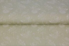 Stenzo stoffen - Stenzo20/21 16130-22 Katoen Flamingo beige