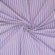 Stoffe Ausverkauf - Ptx20/21 311006-62 Katoen polyester streepjes blauw/paars