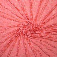 Rode vitrages - Ptx21 311031-21 Ausbrenner look through koraal