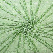 60% katoen, 40% polyester - Ptx21 311031-22 Ausbrenner look through groen