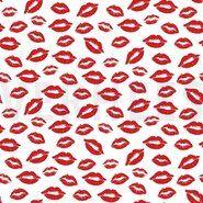 Dekoration und Einrichtung - ByPoppy21 8555-003 Poplin kisses weiß