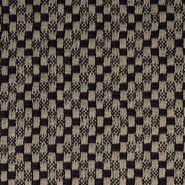 80% Baumwolle, 20% Polyester - KN21 17850-690 Mantelstoff Abelia schwarz