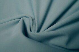 Polyester stof - KN21 0857-630 Heavy Travel ijsblauw