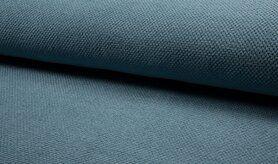 Babydeken stoffen - KC8238-003 Baby wafelstof dusty blauw