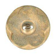 Knöpfe - Knoop bloem goud 54 (5586-54-GO)