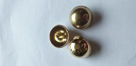 Knöpfe - Knoop bol goud 2,5 cm (2414)