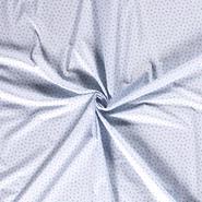 Kleidungsstoffe - Dapper21 15785-002 Katoen bedrukt appels lichtblauw