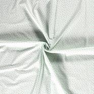 Blouse - Dapper21 15785-021 Katoen bedrukt appels mint