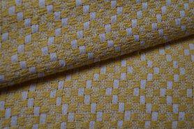 80% Baumwolle, 20% Polyester - KN21 17850-570 Mantelstoff Abelia gelb
