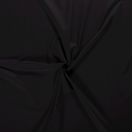 Lakenkatoen - NB 5569-069 Katoen uni zwart
