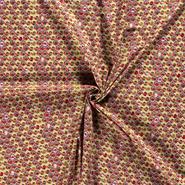 Versiering stoffen - NB21 15826-026 Katoen bloemen lime