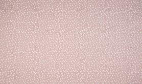 Kinderstoffen - KC0515-012 Katoen kriscross dusty roze