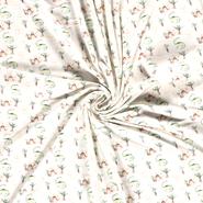 Nooteboom Tricot - NB21 15866-051 Tricot digitaal dinosaurussen off-white/multi