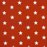 Sternmotiv - ByPoppy21 4954-030 Katoen stars terra