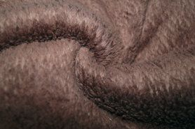 Teddy stof - KN21 0856-110 Cotton teddy bruin