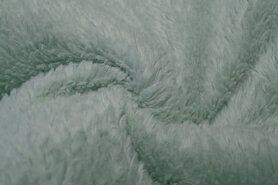 Plaid - KN21 0856-320 Cotton teddy mint