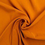 Polyester en elastan - KN21 0854-575 Bi-stretch oranje