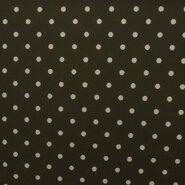 Jumpsuit - KN21 17507-215 Travel polka dot donker legergroen