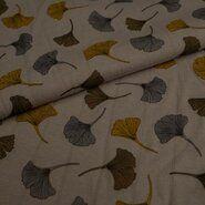 Grau - KN21 17666-950 Musselin-Jersey Ginkgo grau