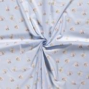 Dapper stoffen - Dapper21 15783-002 Katoen dieren babyblauw