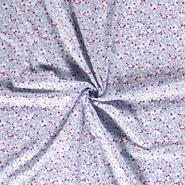 Dapper stoffen - Dapper21 15787-002 Katoen dieren babyblauw