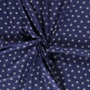 Halloween - Dapper21 15819-008 Baumwolle Skulls dunkelblau