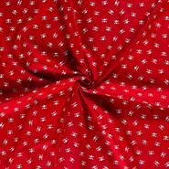 Rote Stoffe - Dapper21 15819-015 Baumwolle Skulls rot