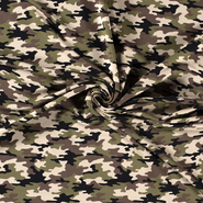 Pullover - NB21 16551-026 French Terry camouflage kaki