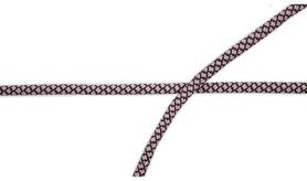 Band - XCR23-131 Koord poederroze/grijs
