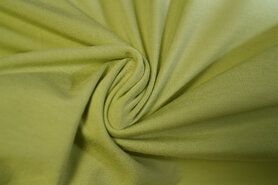 Effen / Uni - KN 0781-315 Tricot pure bamboo lime