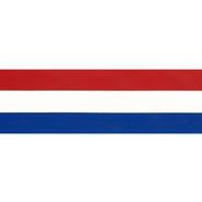 Rot-Weiß-Blaues Band - Zierband rot/weiss/blau 50 mm