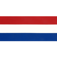 70 mm band - Vlaggenband rood/wit/blauw 70mm 6511-70
