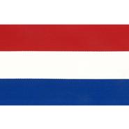 Rot-Weiß-Blaues Band - Zierband rot/weiss/blau 100 mm