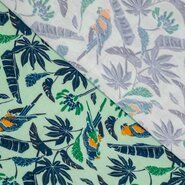 Polytex stoffen - Ptx21 346000-11 Tricot Bamboo papegaai mint
