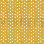 Sternmotiv - ByPoppy21 4955-026 Baumwolle little stars oker