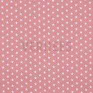 Sternmotiv - ByPoppy21 4955-031 Baumwolle little stars blush