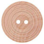 Fournituren voor tassen - Houten knoop met rand 1,75 cm 79893-28