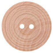 Fournituren voor tassen - Houten knoop met rand 2,5 cm 79893-40
