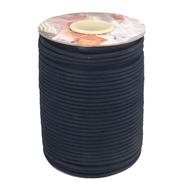 10 mm band - Paspelband katoen donkerblauw 5009-210