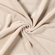 Beige Stoffe - NB 5358-053 Fleece ultrasoft beige