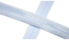 Biasband* - XBT14-500 Biasband Elastisch Glans Babyblauw