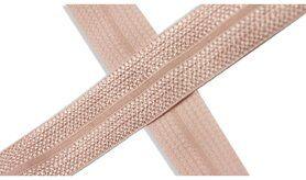 Biasband* - XBT14-531 Biasband Elastisch Glans Poederroze
