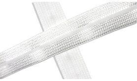 Biasband* - XBT14-550 Biasband Elastisch Glans Wit