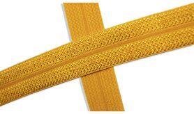 Biasband* - XBT14-586 Biasband Elastisch Glans Maïsgeel
