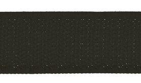 Klittenband* - XVE10-569 Klittenband Naaibaar 2,5 cm breed Zwart